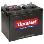 AutoZone Duralast battery