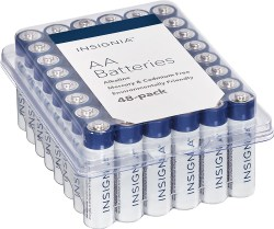 AA Insignia batteries available from Best Buy