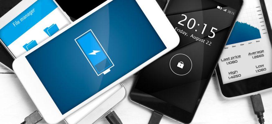 Multiple phones charging