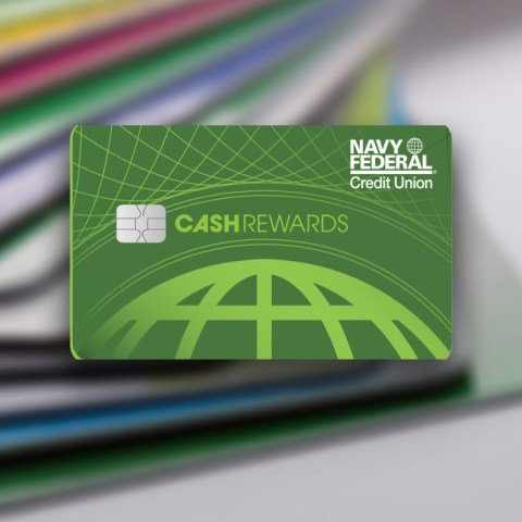 The Navy Federal cashRewards card offers cash back for cardholders.