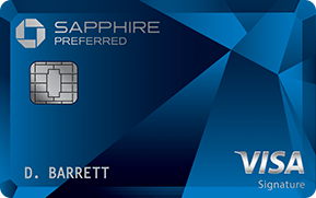 The Chase Sapphire card has a welcome bonus that can be worth up to $750.
