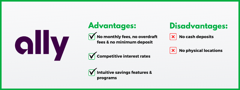 Ally Bank is one of the easiest choices to make our list of the best online banks.