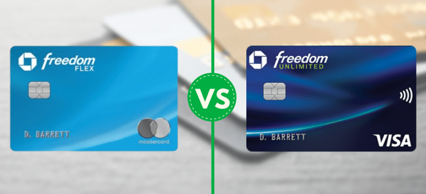 The Chase Freedom Flex and Chase Freedom Unlimited are top cash back credit card options.