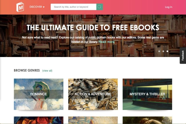 Manybooks - 15 of the Finest Locations to Discover Free E-Books