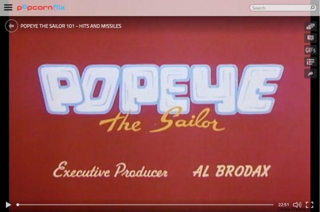 Popcornflix media player