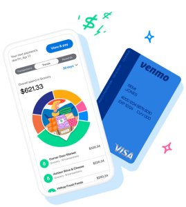 Venmo allows you to track your credit card spending by category in real time.