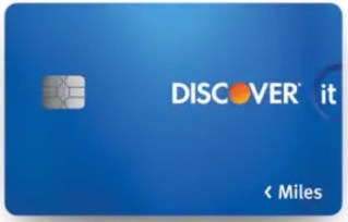 Discover it Miles is a no-annual-fee travel credit card.