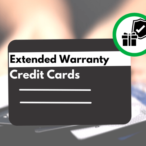 Many top credit card companies offer extended warranty services.