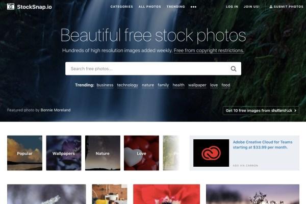 StockSnap royalty-free images