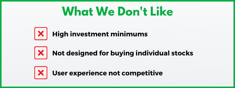 Investing with the Vanguard Group requires meeting high investment minimums and wading through an old-school user experience.