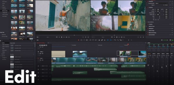 Davinci Resolve free video editing software