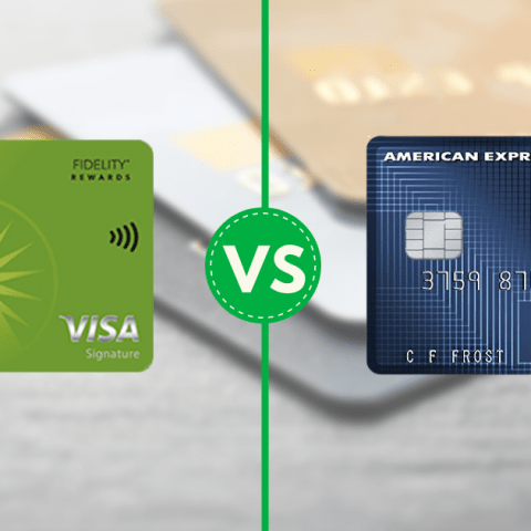 Fidelity and Schwab both have credit cards for investors.