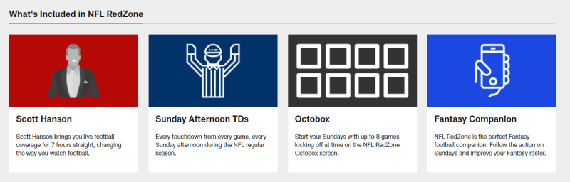 NFL RedZone channel characteristics