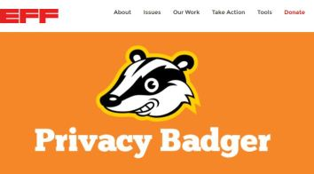 Privacy Badger browser add-on from the Electronic Frontier Foundation.