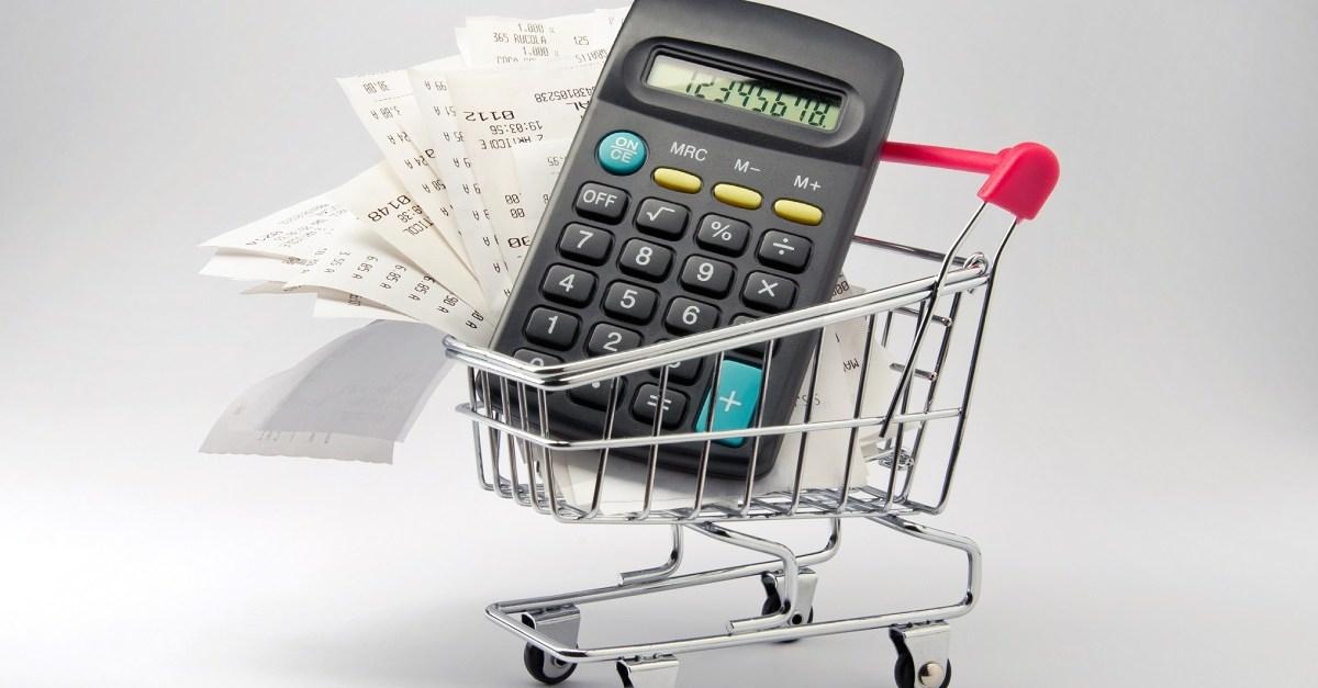 average grocery bill