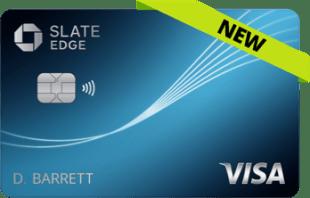 Chase Slate Edge credit card