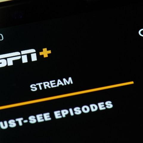 ESPN+ streaming service