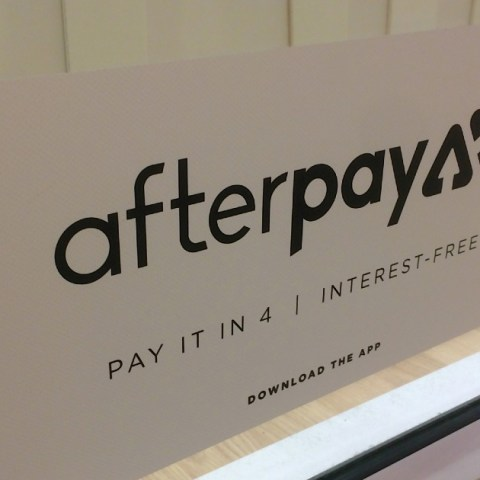 Afterpay is a buy now, pay later service charges 0% interest.