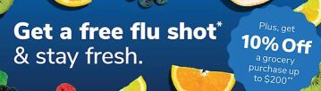 Free flu shot deal at Albertsons