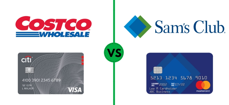 Costco vs. Sam's Club credit card comparison