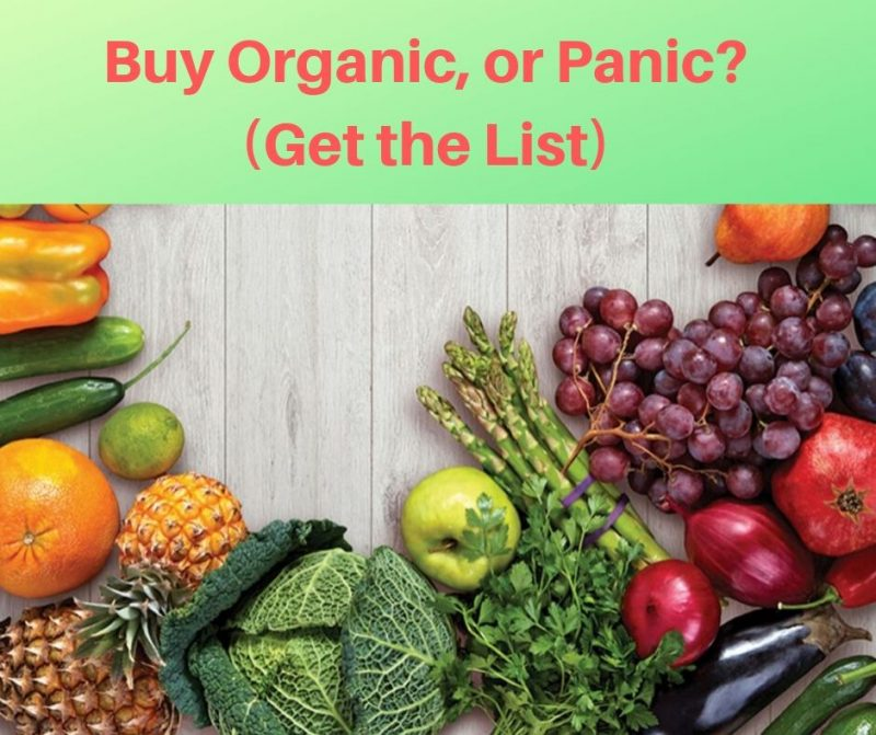 Foods You Should Buy Organic (and non-organic foods that are safe to eat)