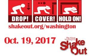 Great Washington ShakeOut & Contest @ Washington State