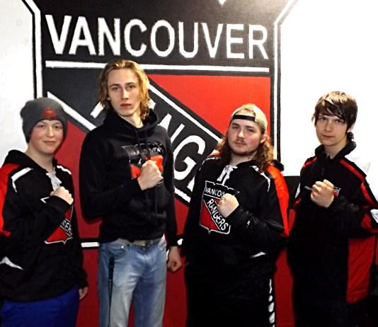 Vancouver Rangers hockey players