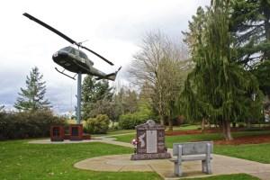 Vancouver Veterans Museum memorial garden