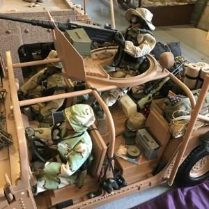 Vancouver Veterans Museum uniform models