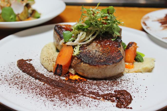 Chef Miguel Sosa Vancouver pork