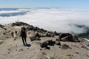 Climbing Mount St Helens in Summer
