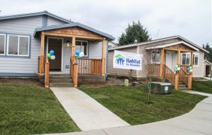 Evergreen Public School Students Habitat for Humanity Palm Haux Homes
