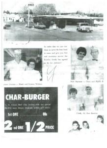Top Burger Camas PR Article July 1965