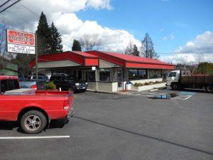 Top Burger Camas Street View
