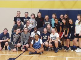 Seton girls win Class 1A state academic championship