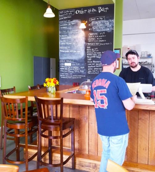 OurBar Washougal Order at the Bar