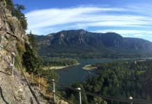 Clark County Trails scenic Beacon-Rock