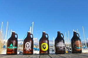 Bellingham Brewery Growlers by the Bay