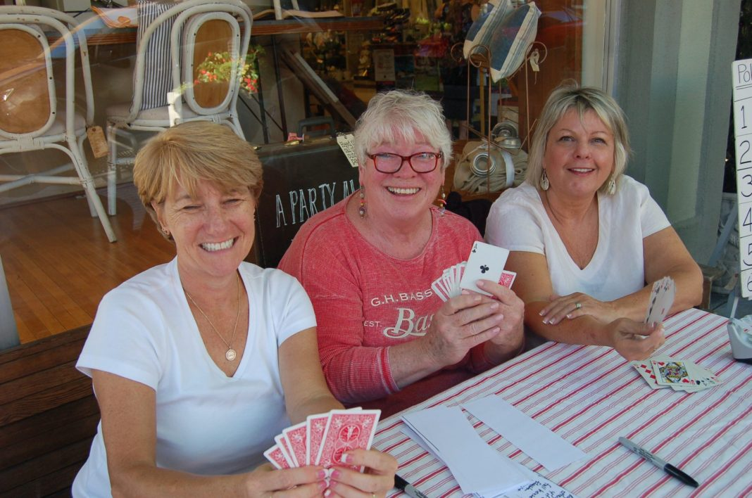 Camas Antiques First Friday Poker Game dealers
