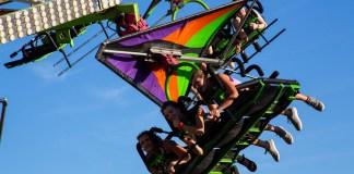 Clark County Fair 2019 carnival rides