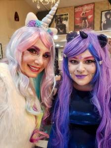 Downtown Camas unicorns Caroline Mercury and Mandi Straub June FF 2019
