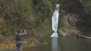 Day trip Waterfalls Olympic Peninsula Spoon-Creek