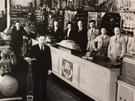 Clark County history Morris Wolf Vancouver Auto Parts store