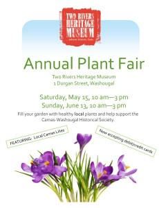 Plant Fair @ Two Rivers Heritage Museum