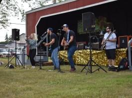 McCleary Bear Festival music in the park