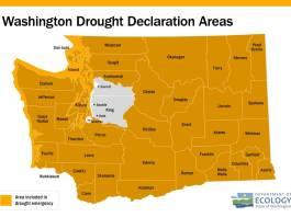 washington state ecology drought