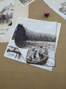Clark-County-Snapshots-In-Time-Mural-With-Photo-of-Battle-Ground-Lake
