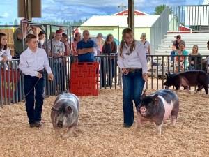 Clark county 4-h Kylie ballard family