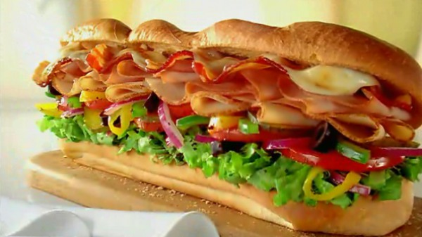 Subway: Get $5 off a $10 purchase with PayPal