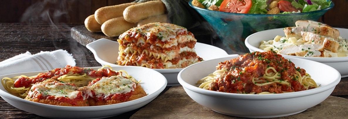Olive Garden: Save $5 on to go orders of $30 or more
